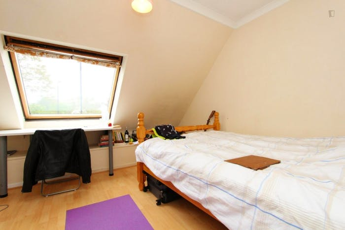 Very nice double bedroom in a 4-bedroom house, in Isle of Dogs  - Gallery -  1