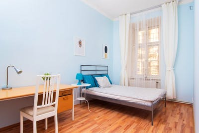 Wonderful double bedroom in the Smíchov district