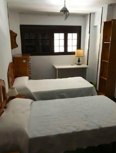 Beautiful single bedroom near Jardines de los Cincos Continentes