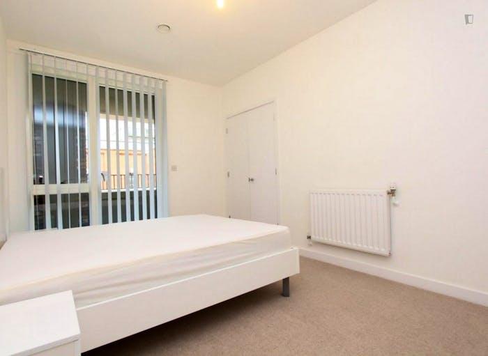 Very pleasant double bedroom in Royal Docks  - Gallery -  4