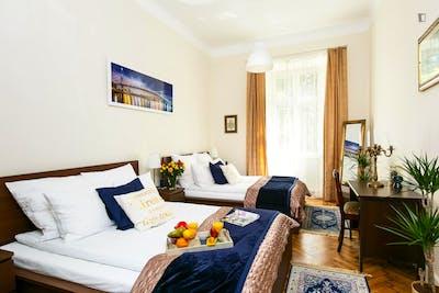 2-Bedroom apartment near Uniwersytet Papieski Jana Pawła II w Krakowie