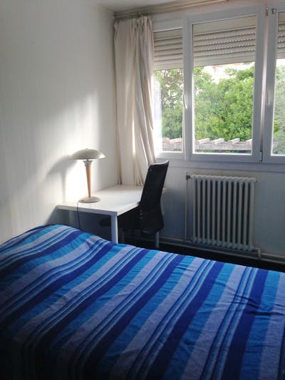 Pleasant bedroom in Aiguerelles