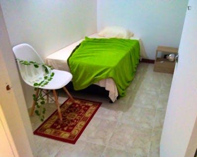 Cosy single bedroom in Santa María de Los Ángeles