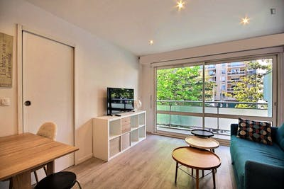 Superb 1-bedroom apartment in Courbevoie