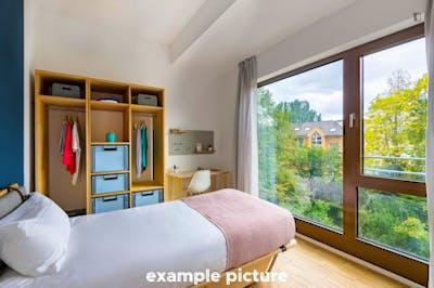 Attractive single bedroom in Westend-Süd