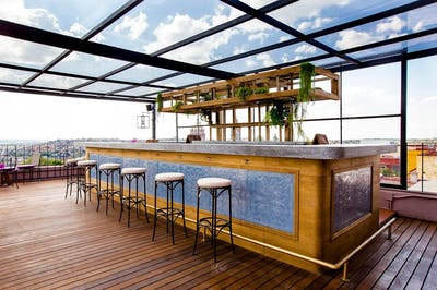 Vibrant Traditional House w/ Rooftop Bar + Coworking