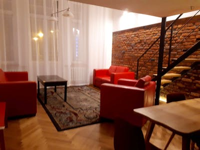 Comfortable 2-bedroom apartment in the centre of Lodz