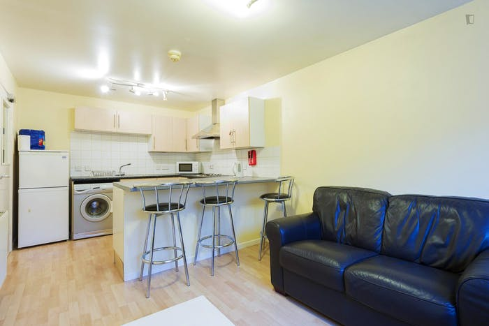 Very neat double bedroom in a 4-bedroom apartment in the Hyson Green neighbourhood  - Gallery -  7