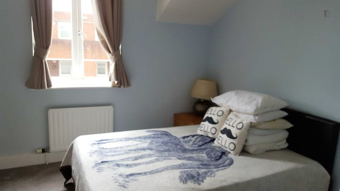 Very nice double bedroom in Shepherd's Bush  - Gallery -  1