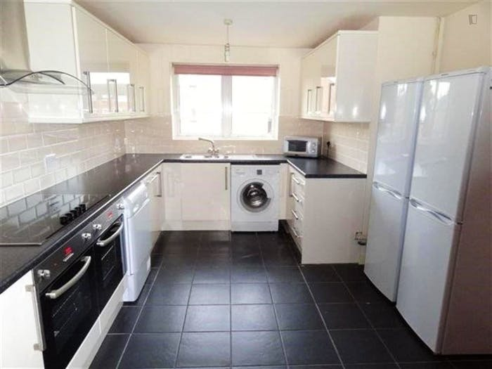 Wide double bedroom in apartment near Nottingham University  - Gallery -  2