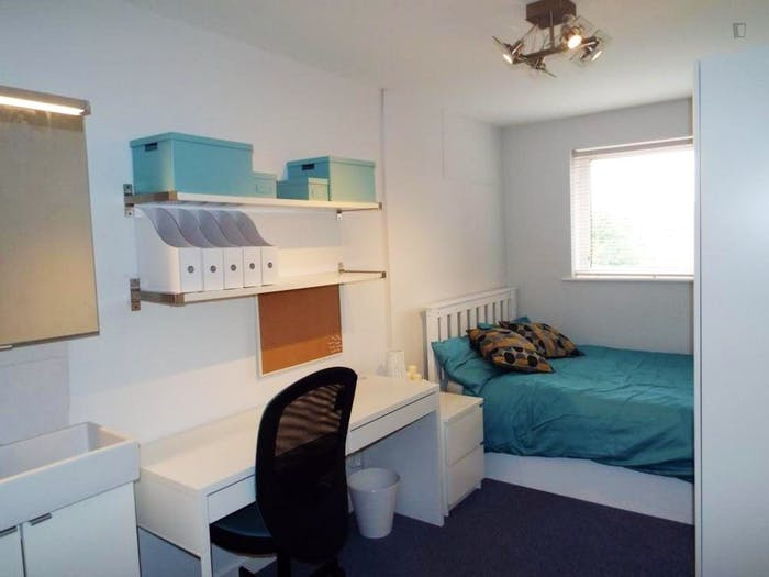 Wide double bedroom in apartment near Nottingham University  - Gallery -  1