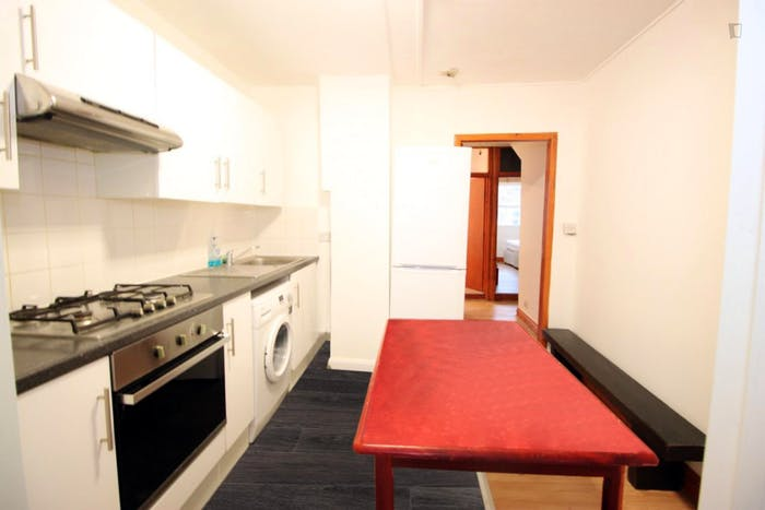Welcoming double bedroom in a 4-bedroom flat, in Shoreditch  - Gallery -  5