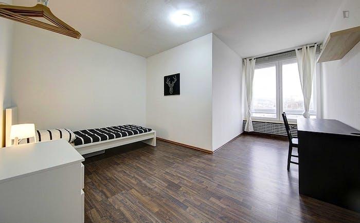 Warm single bedroom in a 6-bedroom flat  - Gallery -  1