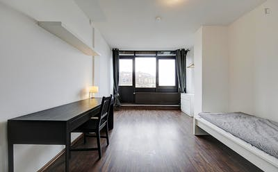 Fantastic single bedroom in Bad Cannstatt