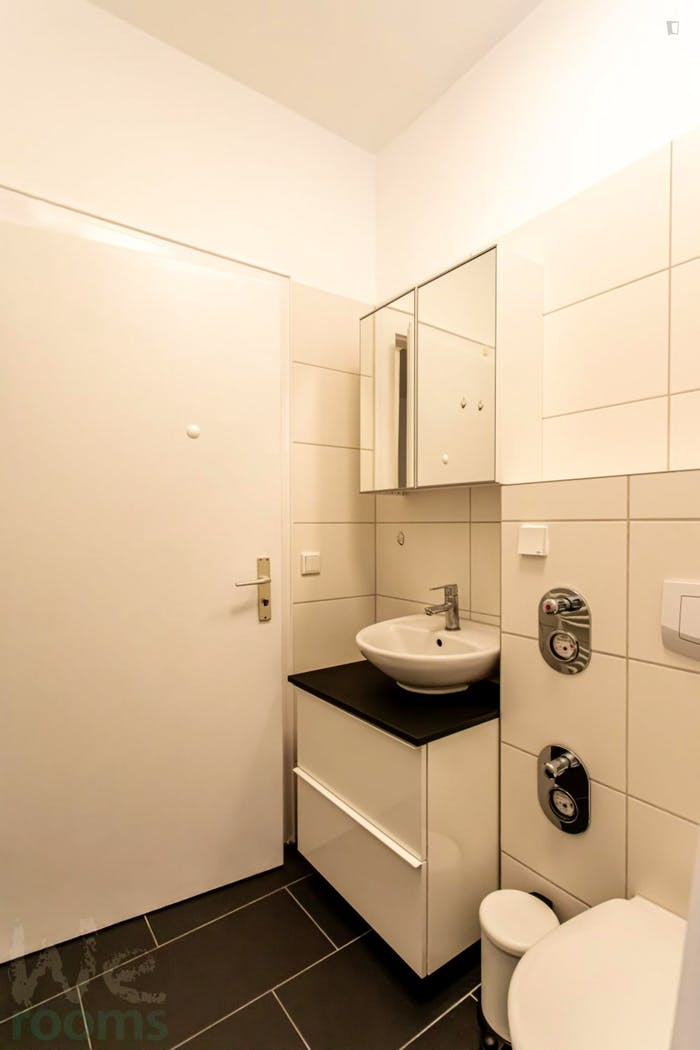 Wonderful single-bedroom in a 5-bedroom apartment in Frankfurt, Sceneviertel near to the central train station  - Gallery -  8