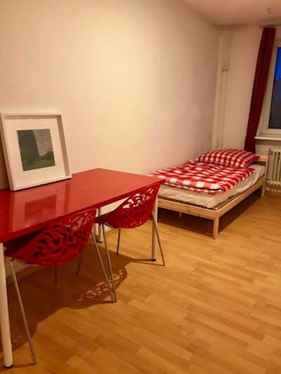 Sublime single bedroom in a student flat, in Tiergarten  - Gallery -  3