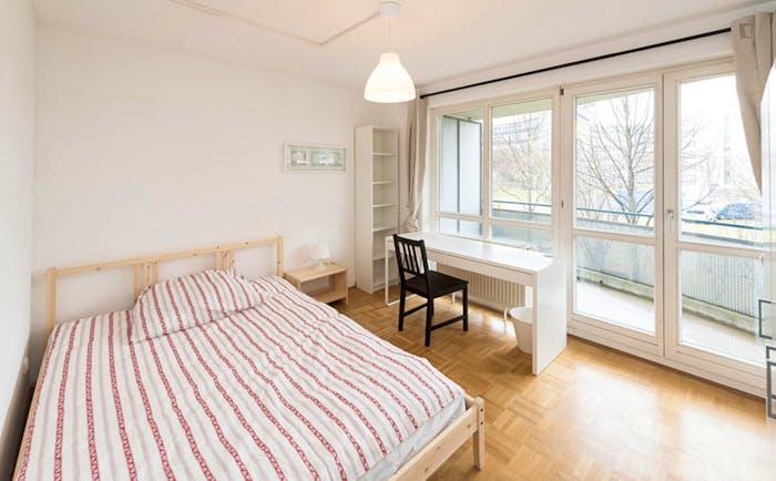 Warm double bedroom near Technische Universität München  - Gallery -  1
