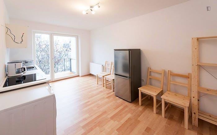 Very cool single bedroom in a 5-bedroom flat, in Au-Haidhausen  - Gallery -  3