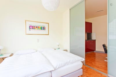 Very appealing 1-bedroom flat in a residence, in Charlottenburg  - Gallery -  1