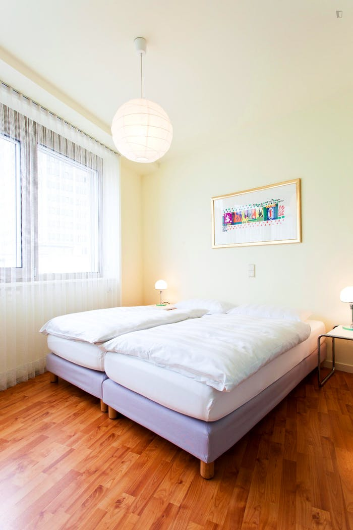 Very appealing 1-bedroom flat in a residence, in Charlottenburg  - Gallery -  2